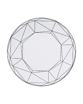 "Prouna - Gem Cut 10.5"" Dinner Plate"