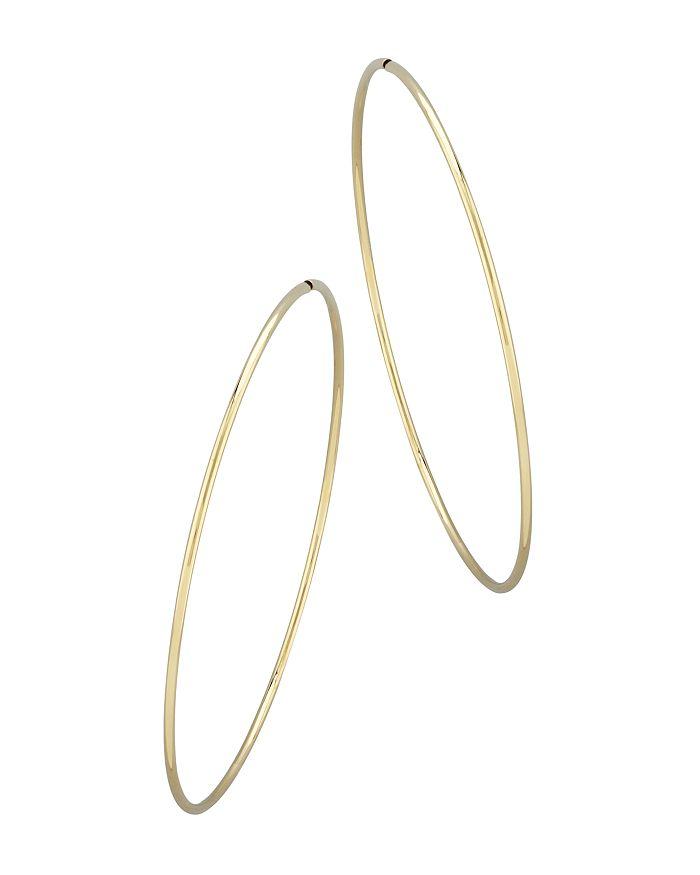 Bloomingdale's - Large Endless Hoop Earrings in 14K Yellow Gold - 100% Exclusive