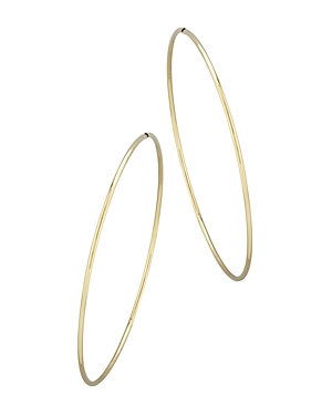 Bloomingdale's Large Endless Hoop Earrings in 14K Yellow Gold - 100% Exclusive