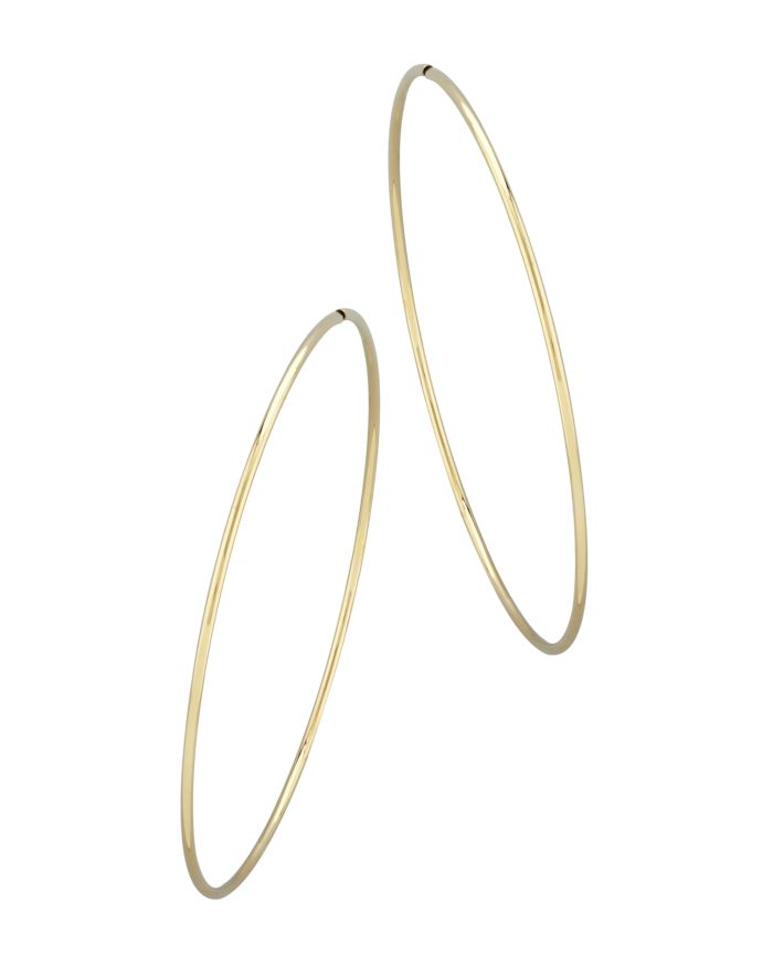 Bloomingdale's Large Endless Hoop Earrings in 14K Yellow Gold - 100% Exclusive  | Bloomingdale's