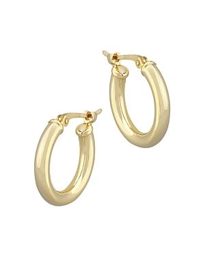 Bloomingdale's Small Tube Hoop Earrings in 14K Yellow Gold - 100% Exclusive