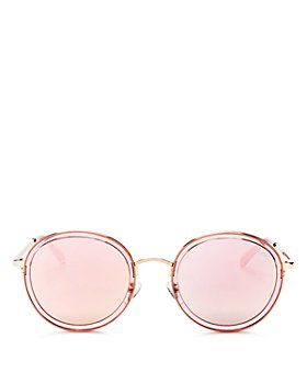 Quay - Women's Firefly Round Sunglasses, 55mm