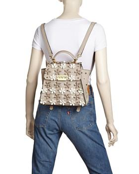 ZAC Zac Posen - Eartha Floral Appliqué Convertible Backpack