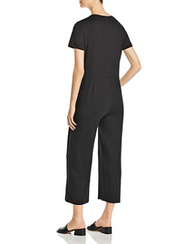 Eileen Fisher - Short-Sleeve Cropped Jumpsuit