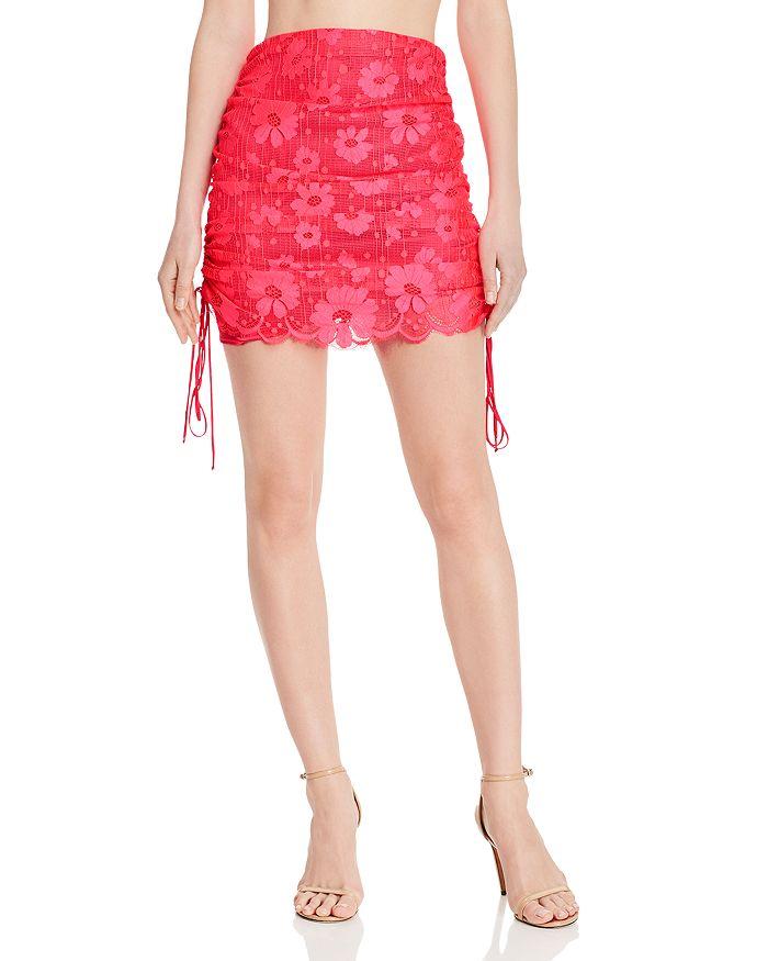 96eb4be18bb For Love   Lemons - Avalon Ruched Mini Skirt