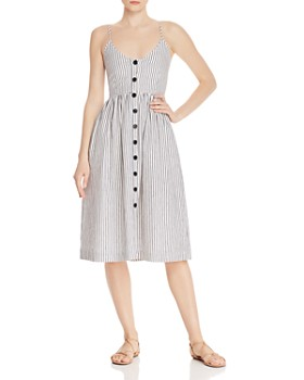 ATM Anthony Thomas Melillo - Striped Dress