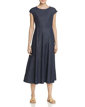 Weekend Max Mara - Occhio Denim Midi Dress