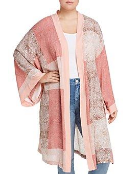 Seven7 Jeans Plus - Printed Kimono