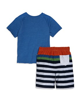 Splendid - Boys' Tee & Striped Shorts Set - Little Kid
