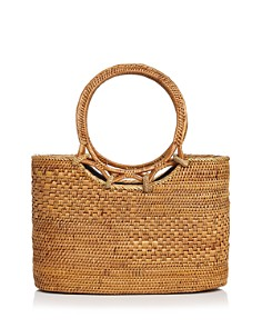 Street Level - Wicker Satchel