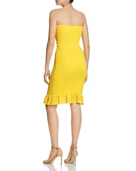 Nightcap - Strapless Cutout Dress