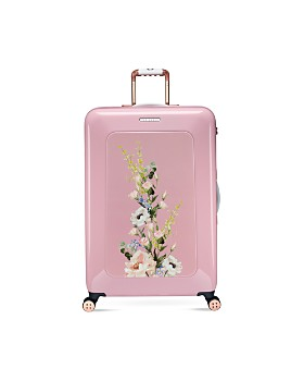 e565fd015b5d Ted Baker - Elegant Pink 4-Wheel Trolley Case