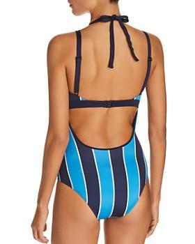 Mei L'ange - Mya Striped One Piece Swimsuit