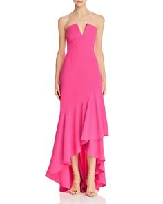 Jill Jill Stuart - Strapless High/Low Gown