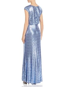 Tadashi Shoji - Sequined Blouson Gown
