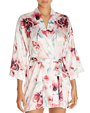 Hanky Panky Shorts GET READY FLORAL SHORT ROBE