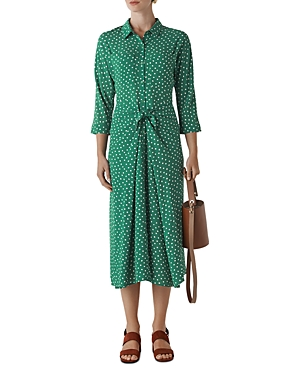 Whistles Dresses SELMA SPOT-PRINT DRESS