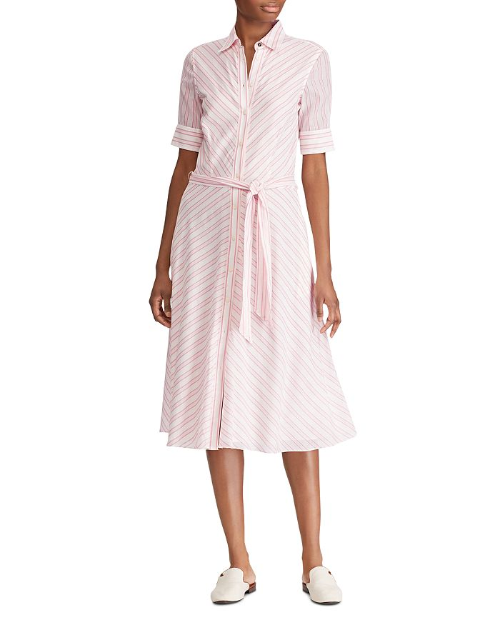 Ralph Lauren - Striped Belted Shirt Dress