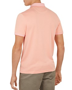 Ted Baker - Frog Flat Knit Polynosic Regular Fit Polo Shirt