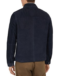 Ted Baker - Salza Suede Zip-Up Jacket