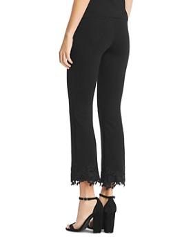 Bailey 44 - Petite Four Lace-Hem Ponte Pants