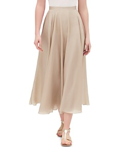 Lafayette 148 New York - Ambria Silk Midi Skirt
