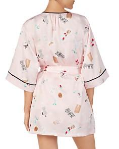 kate spade new york - Paris Printed Short Robe