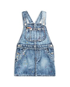 Polo Ralph Lauren - Girls' Overall Denim Dress - Little Kid