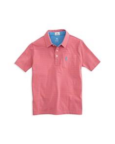Johnnie-O - Boys' Cliffs Striped Polo Shirt - Little Kid, Big Kid