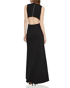 BCBGMAXAZRIA - Embellished Cutout Gown