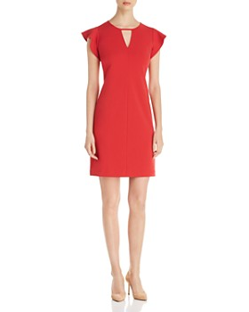 b60f93ab9c7 VINCE CAMUTO - Flutter-Sleeve Dress - 100% Exclusive ...