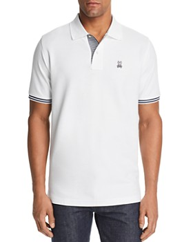 c0aa7120 Psycho Bunny - Northgate Stripe-Accented Classic Fit Polo Shirt