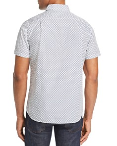 Psycho Bunny - Skye Short-Sleeve Geometric-Print Classic Fit Shirt