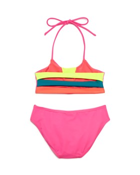 Peixoto - Girls' Zola Color-Block Two-Piece Swimsuit- Little Kid, Big Kid