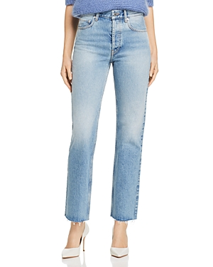 Anine Bing Jeans JACKIE RODEO HIGH RISE JEANS IN BLUE
