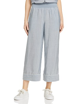 ATM Anthony Thomas Melillo - Striped Wide-Leg Pants