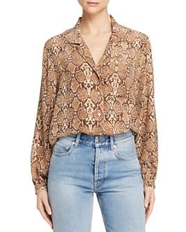 Anine Bing - Lilah Printed Silk Shirt