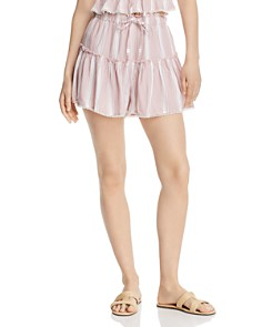 Rahi - Striped Drawstring Shorts