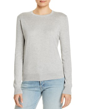 d0d4ccd3ea836f Theory - Heathered Crewneck Sweater ...