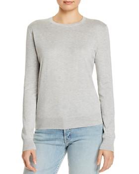 Theory - Heathered Crewneck Sweater