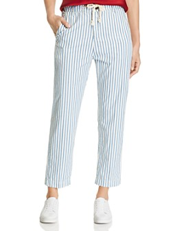 MKT Studio - Pretty Pinstriped Twill Pants