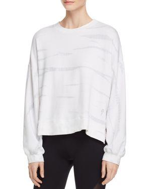 ELECTRIC & ROSE | Electric & Rose Niel Tie-Dye Fleece Sweatshirt | Goxip