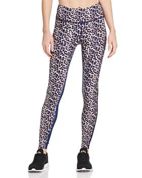 f6a51fb6e9 Wear It To Heart - High-Rise Leopard Print Leggings - 100% Exclusive ...