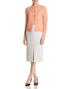BOSS - Falyssa Short-Sleeve Virgin Wool Sweater