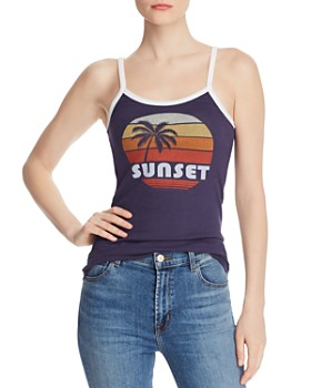 ALTERNATIVE - Sunset Ringer Tank - 100% Exclusive