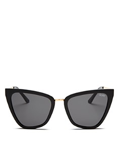 Quay - Women's QUAY x JLO Reina Cat Eye Sunglasses, 51mm