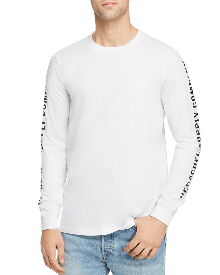 Herschel Supply Co. - Logo-Print Long-Sleeve Tee