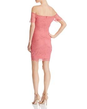 GUESS - Elleann Off-the-Shoulder Lace Dress