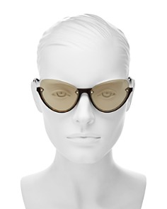 McQ Alexander McQueen - Women's Cat Eye Sunglasses, 56mm
