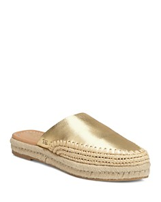 Sam Edelman - Women's Austin Leather Espadrille Mules